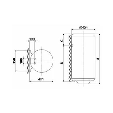 Elektrinis vandens šildytuvas Gorenje TGR 80 N 2
