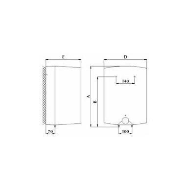 Elektrinis vandens šildytuvas Gorenje GT 10 O 3