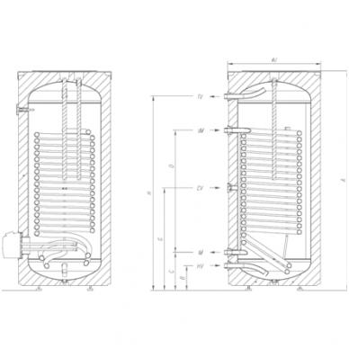 Elektrinis vandens šildytuvas Gorenje VLG 300B-G3 7
