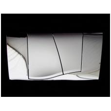 WC nuleidimo klavišas Friatec, Chromuotas/Matinis